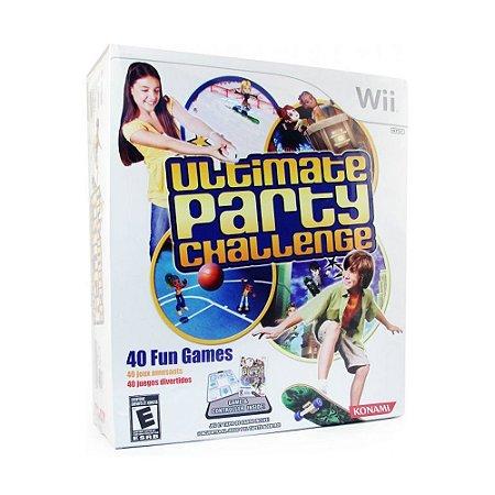 Jogo Ultimate Party Challenge (Bundle) - Wii