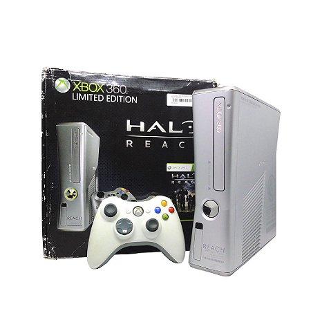Console Xbox 360 Slim 250GB (Edição Limitada: Halo Reach) - Microsoft