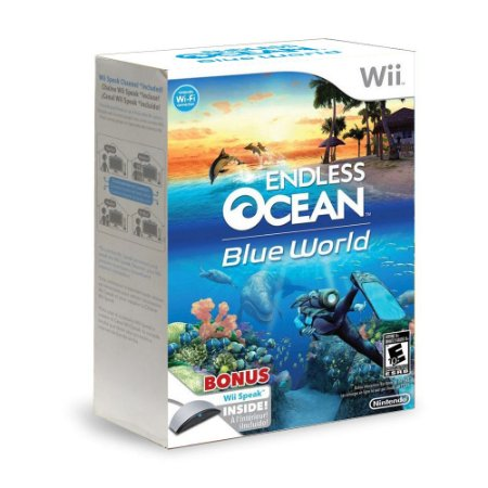 Jogo Endless Ocean: Blue World (Bundle) - Wii