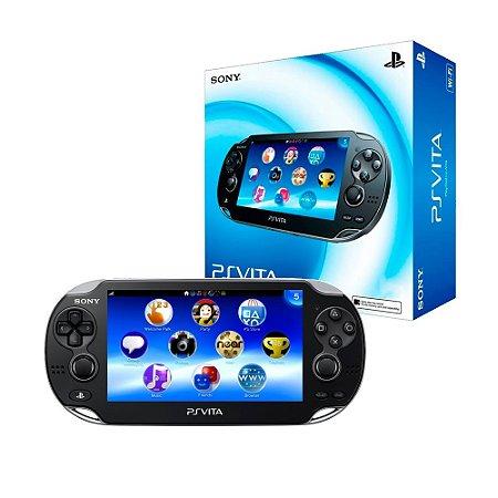 Console PlayStation Vita PCH-1101 - Sony