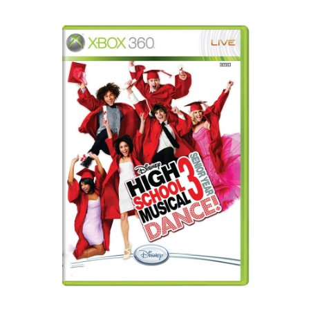 Jogo High School Musical 3: Senior Year Dance - Xbox 360