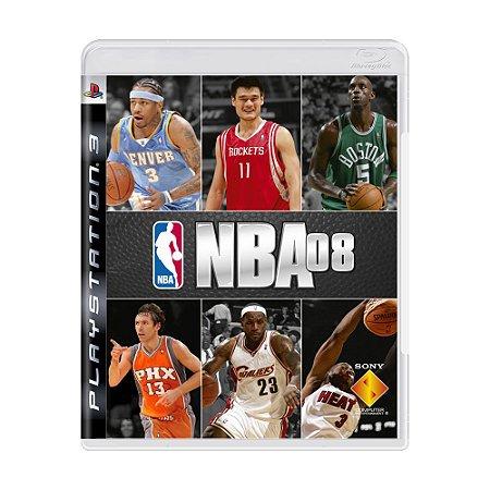 Jogo NBA 08 - PS3