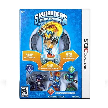 Jogo Skylanders: Spyro's Adventure (Starter Pack) - 3DS