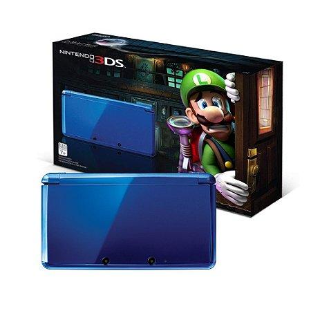 Console Nintendo 3DS Cobalt Blue - Nintendo