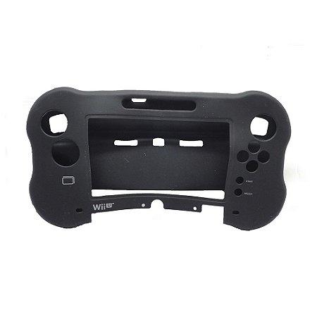 Capa de Silicone P/ Wii U Game Pad Preto