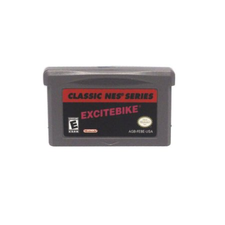 Jogo Classic NES: Excite Bike - GBA - Game Boy Advance