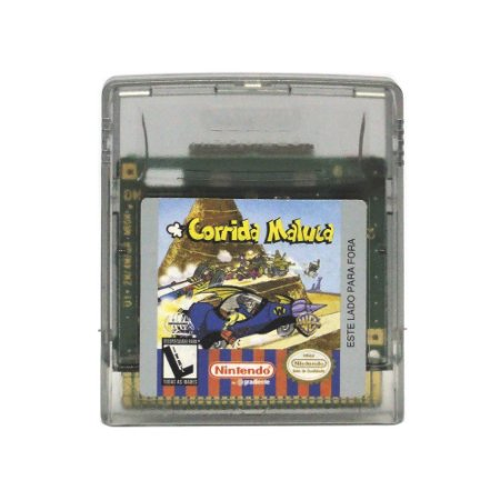 Jogo Corrida Maluca - GBC - Game Boy Color