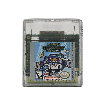 Jogo Dexter's Laboratory: Robot Rampage - GBC - Game Boy Color
