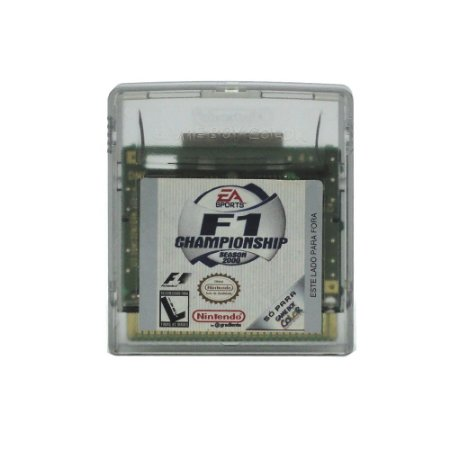 Jogo Formula 1 Championship 2000 - GBC - Game Boy Color