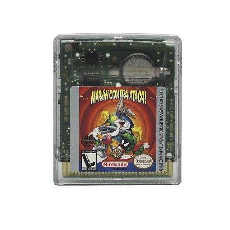 Jogo Marvin Contra Ataca! - GBC - Game Boy Color