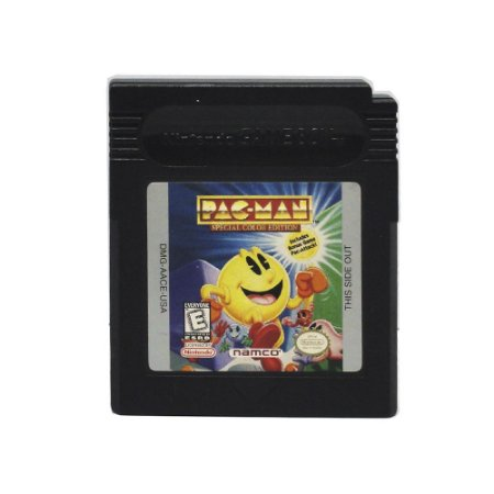 Jogo Pac-man Special Color Edition - GBC - Game Boy Color