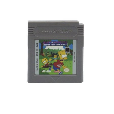 Jogo Bart Simpson's Escape from Camp Deadly - GBC