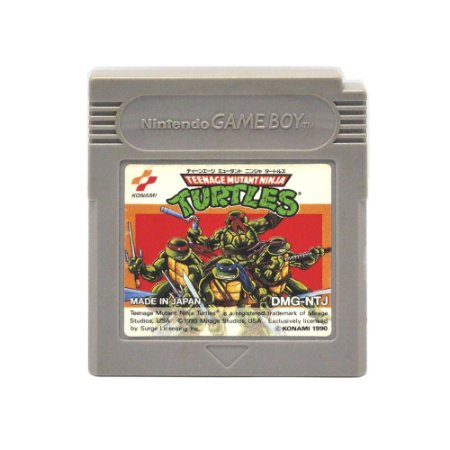 Jogo Teenage Mutant Ninja Turtles - GBC - Game Boy Color [Japonês]