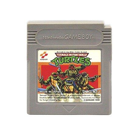 Jogo Teenage Mutant Ninja Turtles - GBC - Game Boy Color [Japonês]