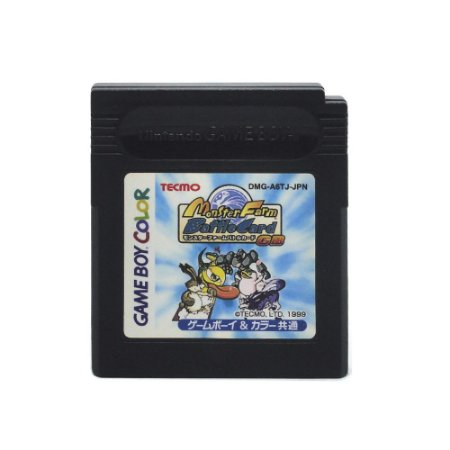 Jogo Monster Farm: Battle Card - GBC - Game Boy Color [Japonês]