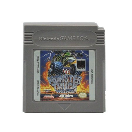 Jogo Monster Truck Wars - GBC