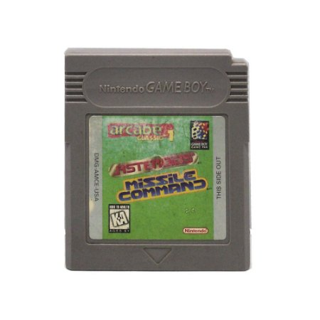 Jogo Arcade Classic 1: Asteroids & Missile Command - GBC - Game Boy Color