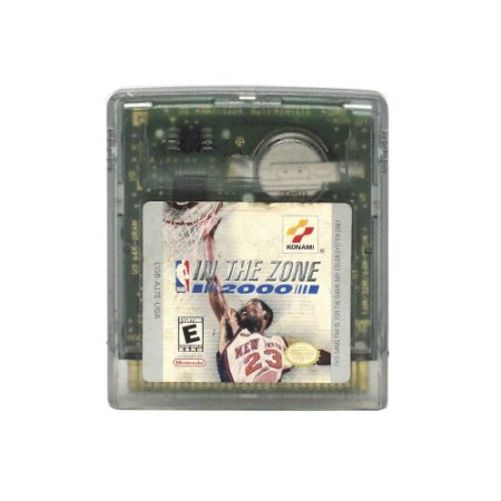 Jogo NBA In The Zone 2000 - GBC - Game Boy Color