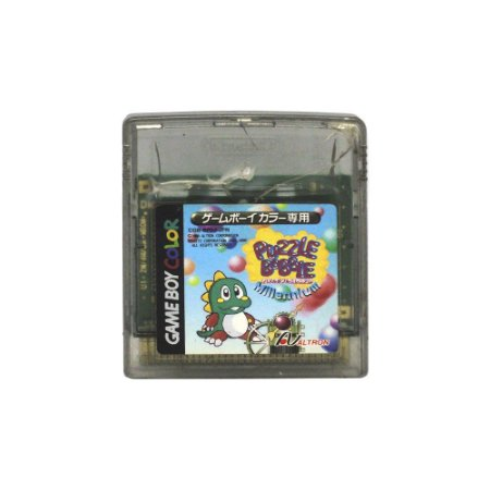 Jogo Puzzle Bobble Millennium - GBC [Japonês]