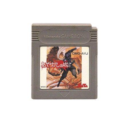 Jogo Ayakashi no Shiro - GBC - Game Boy Color