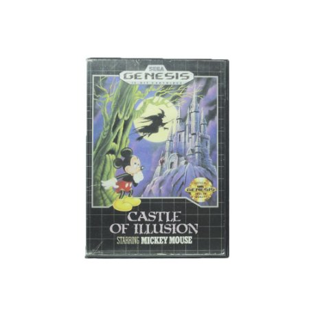 Jogo Castle of Ilusion Staring Mickey Mouse - Mega Drive