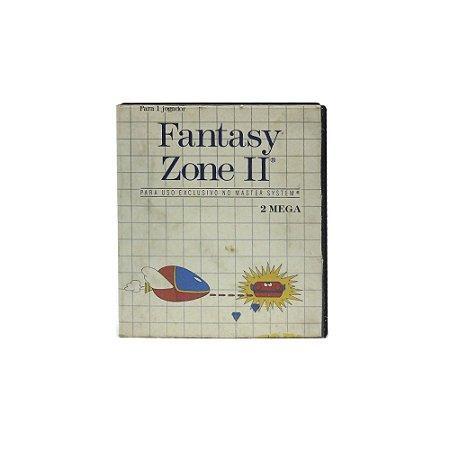 Jogo Fantasy Zone II - Master System [Nacional]