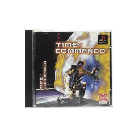 Jogo Time Commando - PS1 [Japonês]