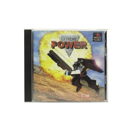 Jogo Extreme Power - PS1 (Japonês)