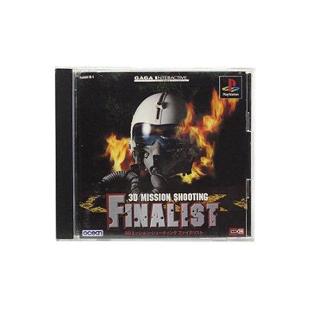 Jogo 3D Mission Shooting: Finalist - PS1 (Japonês)