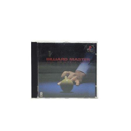 Jogo Doukyu: Billiard Master - PS1