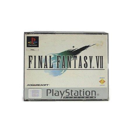 Jogo Final Fantasy VII (Platinum) - PS1