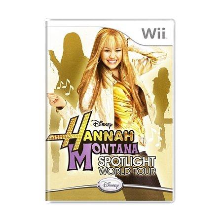 Jogo Hannah Montana: Spotlight World Tour - Wii