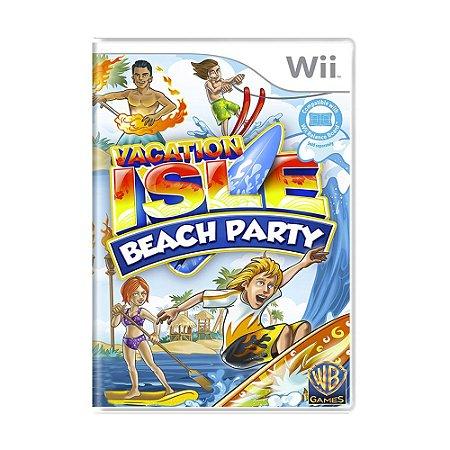 Jogo Vacation Isle Beach Party - Wii