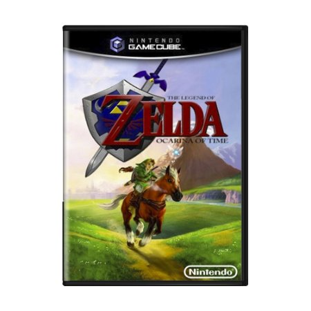 Jogo The Legend of Zelda: Ocarina of Time - GameCube