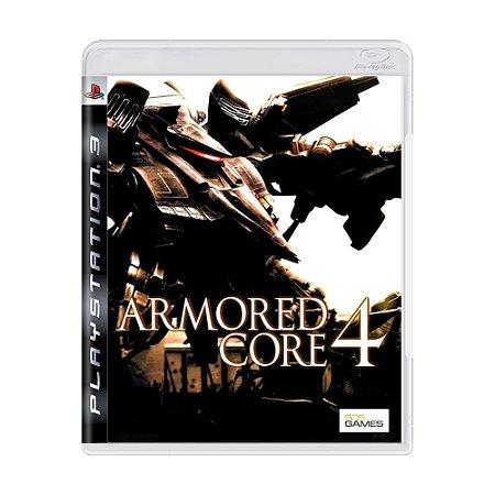 Jogo Armored 4 Core - PS3