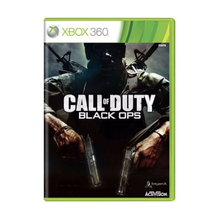 Jogo Call of Duty: Black Ops - Xbox 360