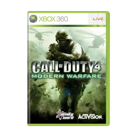 Jogo Call of Duty: Modern Warfare - Xbox 360