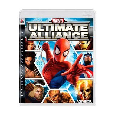 Jogo Marvel Ultimate Alliance - PS3