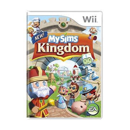 Jogo MySims Kingdom - Wii