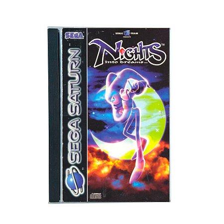 Jogo Nights: into dreams - Sega Saturn