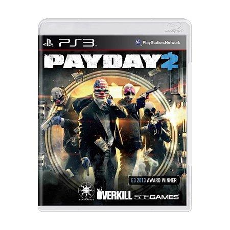 Jogo PayDay 2 - PS3