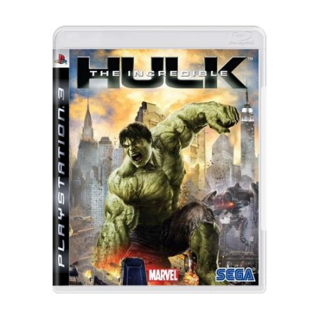 Jogo The Incredible Hulk - PS3