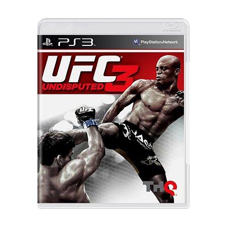Jogo UFC 3: Undisputed - PS3