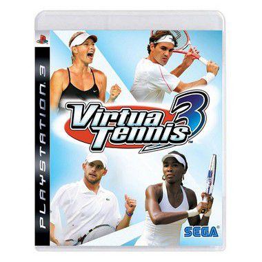 Jogo Virtua Tennis 3 - PS3