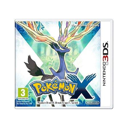Jogo Pokémon X - 3DS [Europeu]