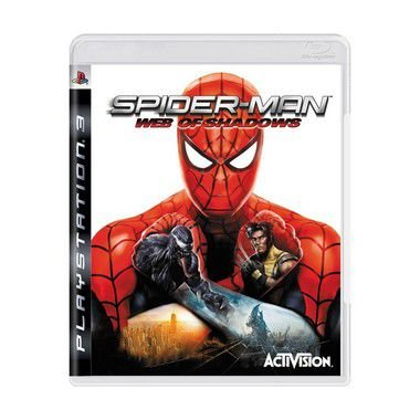 Jogo Spider-Man: Web of Shadows - PS3