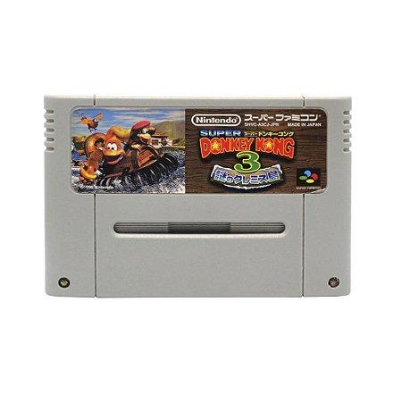 Jogo Donkey Kong Country 3 - Dixie Kong's Double Trouble - Super Famicom [Japonês]