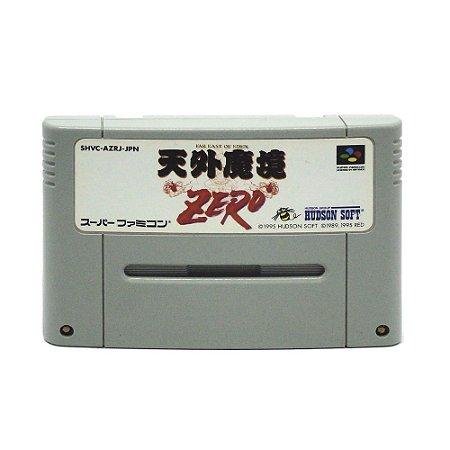 Jogo Far East Of Eden: Tengai Makyou Zero - Super Famicom [Japonês]