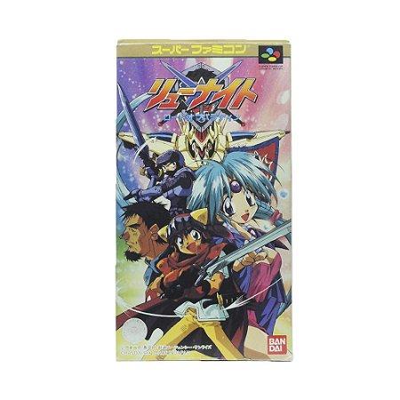 Jogo Haou Taikei Ryuu Knight: Lord Of Paladin - SNES [Japonês]
