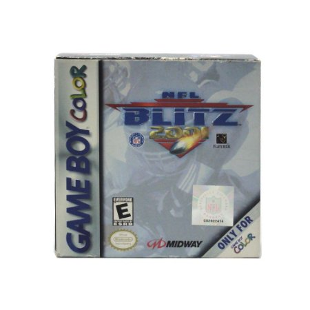Jogo NFL Blitz 2001 - GBC - Game Boy Color